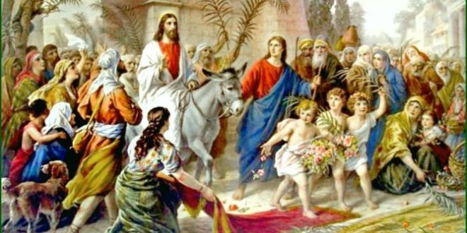 Minggu Prapaskah VI: Palmarum dan Sengsara Tahun B