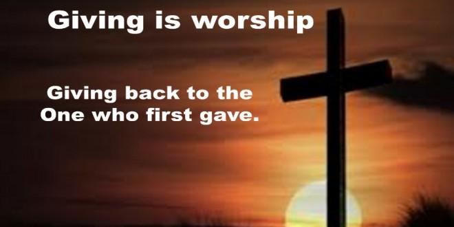 Spiritualitas Memberi Persembahan (Matius 6:1-4; Roma 12:1-2)